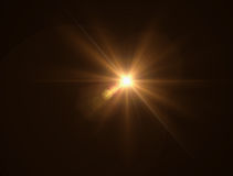 Lighting warm flare. Abstract image of lighting warm flare Royalty Free Stock Images