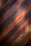 Lighting with wood barn plank Royalty Free Stock Photography