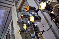 lightingetapp Arkivfoto