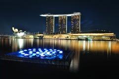 lightingsingapore horisont Arkivfoto