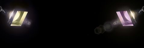 Lightingx2 (illumination) Image libre de droits