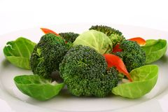 Lightly cooked broccoli Royalty Free Stock Images