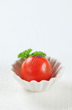 Lightly grilled tomato Stock Images