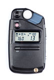 Lightmeter. Isolated on white background Stock Photo