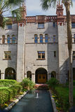 The Lightner Museum Building in St Augustine Stock Photo