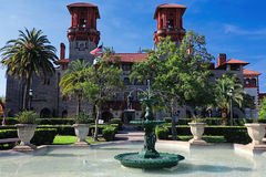 Lightner Museum St. Augustine. Lightner Museum located in the oldest city in the United States is St. Augustine Florida. The Lightner Museum was former Alcazar Royalty Free Stock Images