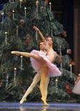 The lightness of the dance-The Ballet  Nutcracker Stock Photo
