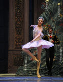 The lightness of the dance-The Ballet  Nutcracker Royalty Free Stock Photos