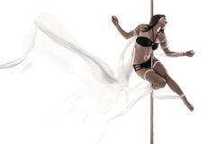 Lightness in dance Stock Photography