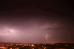 Lightning. Stock Photos