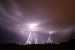 Lightning Royalty Free Stock Photography
