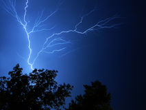 Lightning. Is in Stock Photography