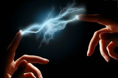 Lightning. Stock Photo