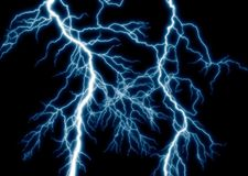 The lightning Stock Photography