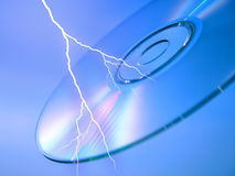 Lightning and IT royalty free stock photography