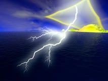 lightning Στοκ Φωτογραφία