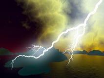 lightning Στοκ φωτογραφίες με δικαίωμα ελεύθερης χρήσης
