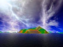 lightning Στοκ εικόνα με δικαίωμα ελεύθερης χρήσης