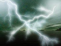 lightning Στοκ φωτογραφία με δικαίωμα ελεύθερης χρήσης