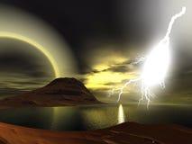 lightning Στοκ Φωτογραφίες