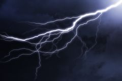 Lightning royalty free stock photo