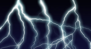 The lightning Stock Image