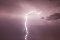Lightning-1 Imagens de Stock Royalty Free
