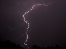 Lightning 6. Lightning during a thunderstorm Royalty Free Stock Photography