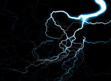 Lightning 6. This is some lightning Royalty Free Stock Photos