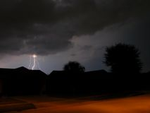 Lightning. Electrical storm in Central Florida Royalty Free Stock Photo