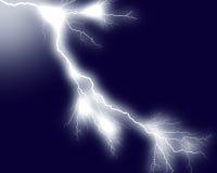 Lightning 7. Lightning bolts against dark background Stock Photo