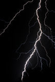 Lightning. In the night sky Stock Photo