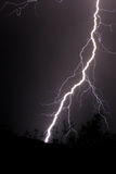 Lightning. Lighning in the night sky Stock Photos