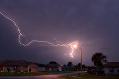 Lightning array Royalty Free Stock Photography