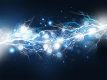 Lightning background Royalty Free Stock Photos