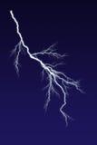 Lightning Bolt. Against dark sky Stock Images