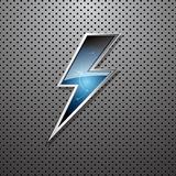 Lightning bolt stock illustration