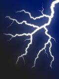Lightning bolt. Realistic illustration of beautiful lightning bolt Stock Image