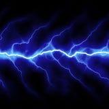 Lightning Bolt. Bolts of lightning isolated over a black background Stock Images