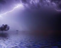 Lightning bolt. Royalty Free Stock Image