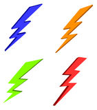 Lightning bolt power Royalty Free Stock Photography