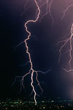 Lightning Bolt Strike Stock Images