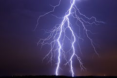 Lightning bolt Strike Royalty Free Stock Photos