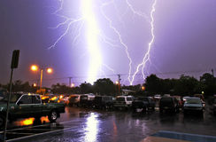 Lightning Bolts Stock Images