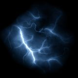 Lightning Bolts Background Stock Images