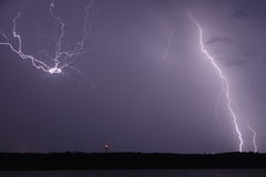 Lightning Burst Stock Image