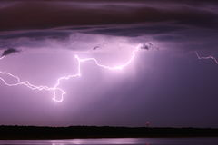 Lightning cloud Royalty Free Stock Images