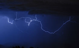 Lightning - Cloud to Cloud Royalty Free Stock Photo