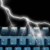Lightning communications Stock Photography