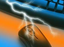 Lightning communications Royalty Free Stock Photography